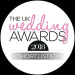 Shortlisted for the UK Wedding Awards