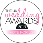 Vote for me for the UK Wedding Awards