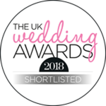 Shortlisted for the Wedding Awards 2018